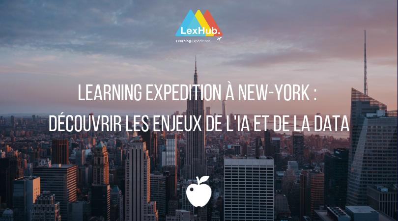 Learning Expedition à NYC : découvrir les enjeux de l'IA et de la data