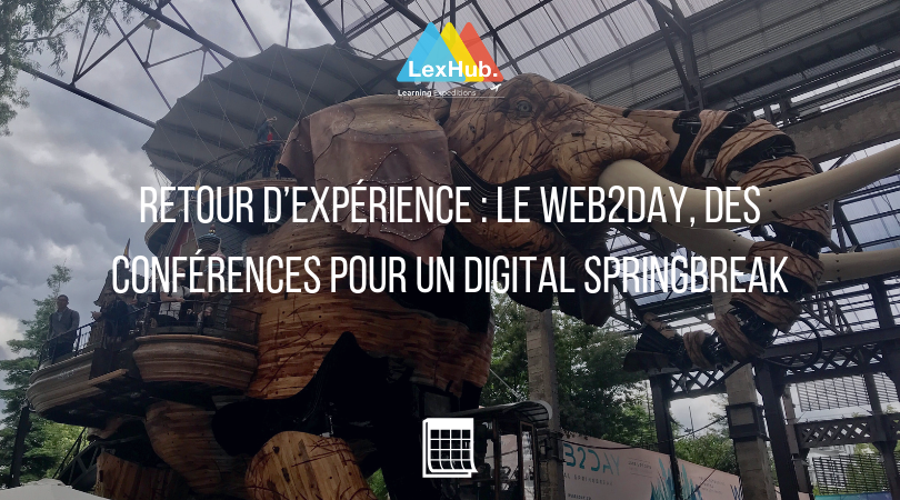 Retour d'expérience : le Web2Day, des conférences pour un digital springbreak